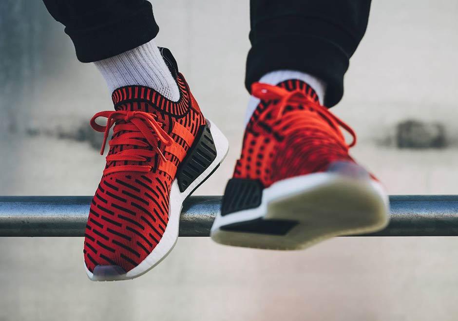 Adidas Nmd R2 Primeknit Roja tWWvb4wyEz