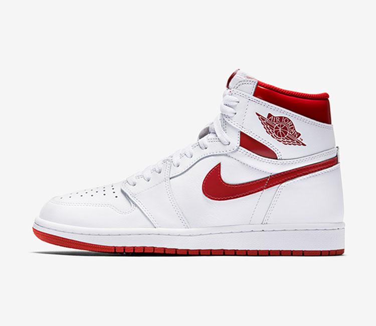 air jordan 1 blanche et rouge