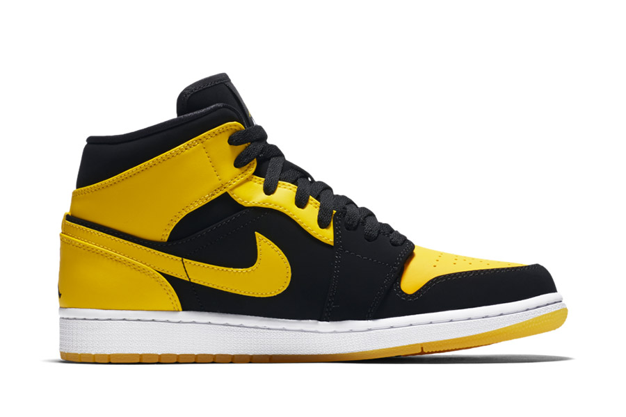 air jordan 1 mid jaune junior