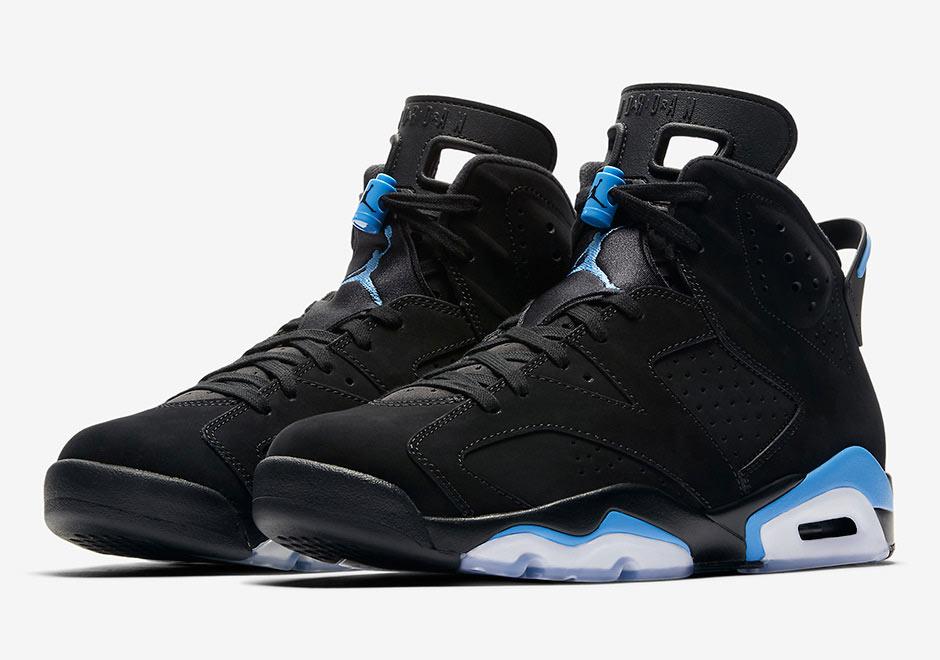 71053026b94 Air Jordan 6 Black University Blue - Le Site de la Sneaker