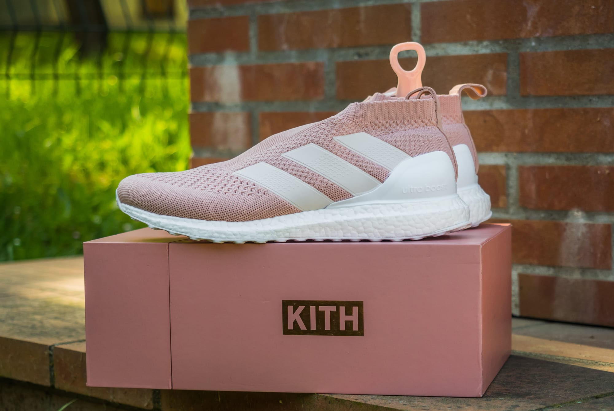 official photos 7e7a3 a4089 KITH x adidas ACE16+ PureControl Ultra Boost Flamingo - Le ...