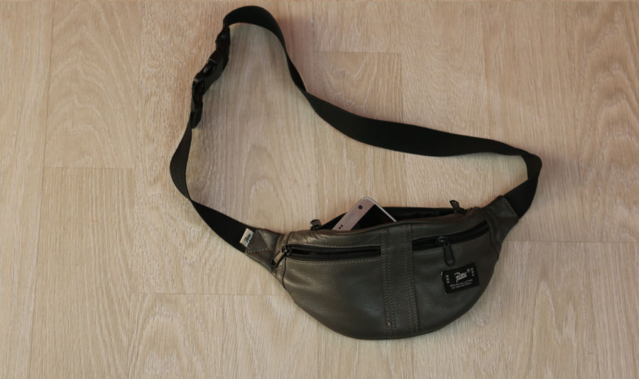 Patta x Levis leather waist bag