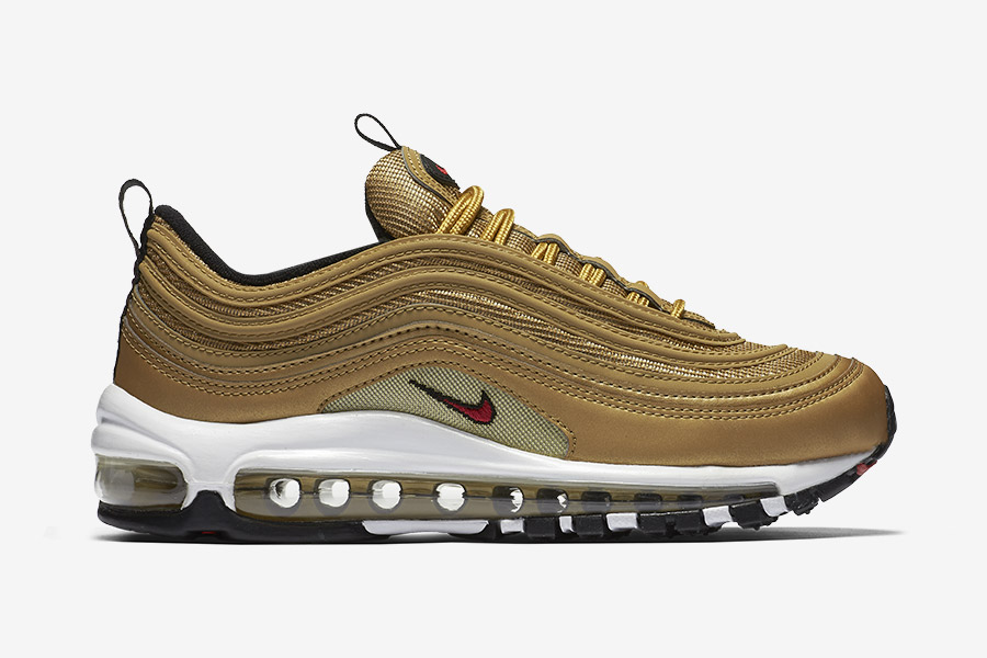 nike air max 97 metallic gold le site de la sneaker. Black Bedroom Furniture Sets. Home Design Ideas