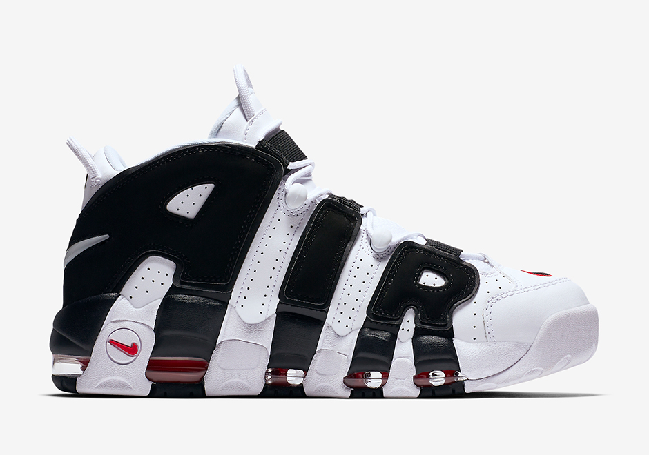 Nike Air More Uptempo Scottie Pippen BlancheNoir Rouge 414962 105