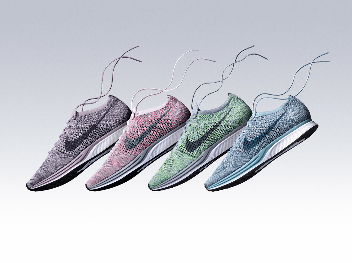 new product 91d89 8c664 Nike Flyknit Racer Macaron Pack