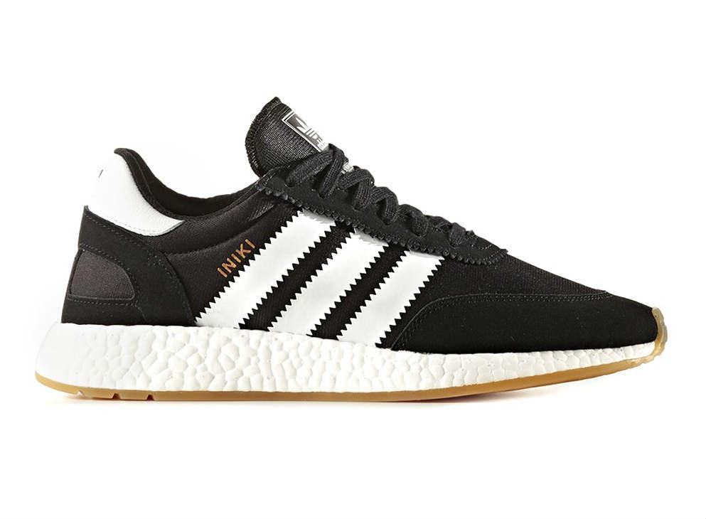 adidas iniki runner boost black white le site de la sneaker. Black Bedroom Furniture Sets. Home Design Ideas