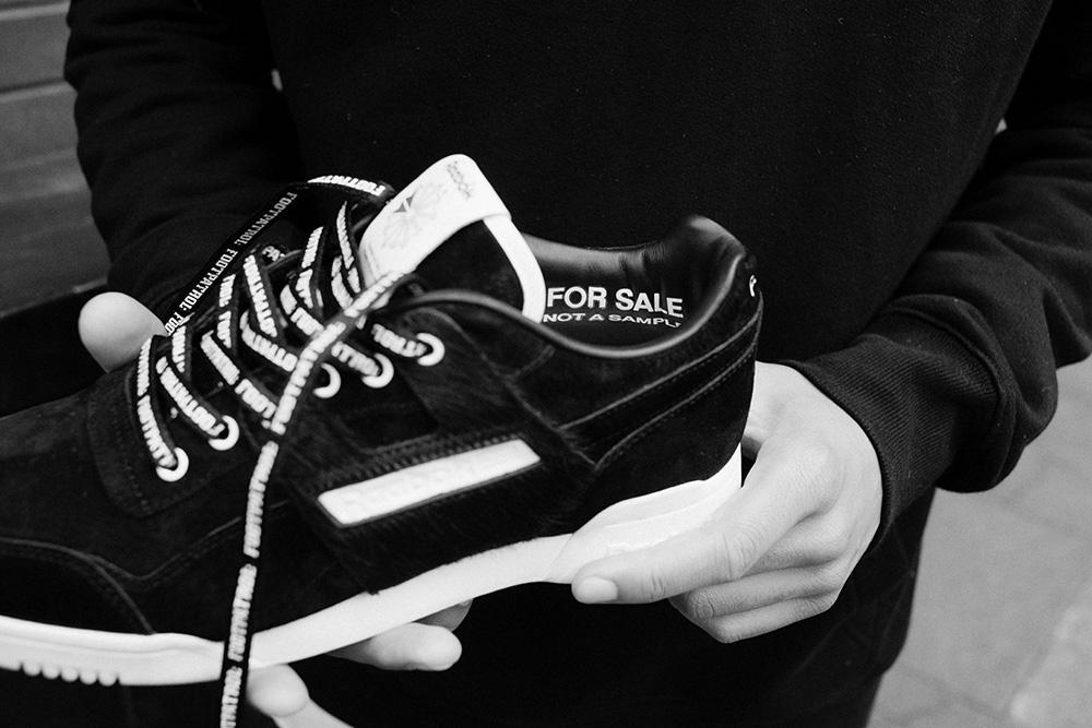 cdab2c7e791 Footpatrol x Reebok Workout Lo Plus Blackbuck - Le Site de la Sneaker