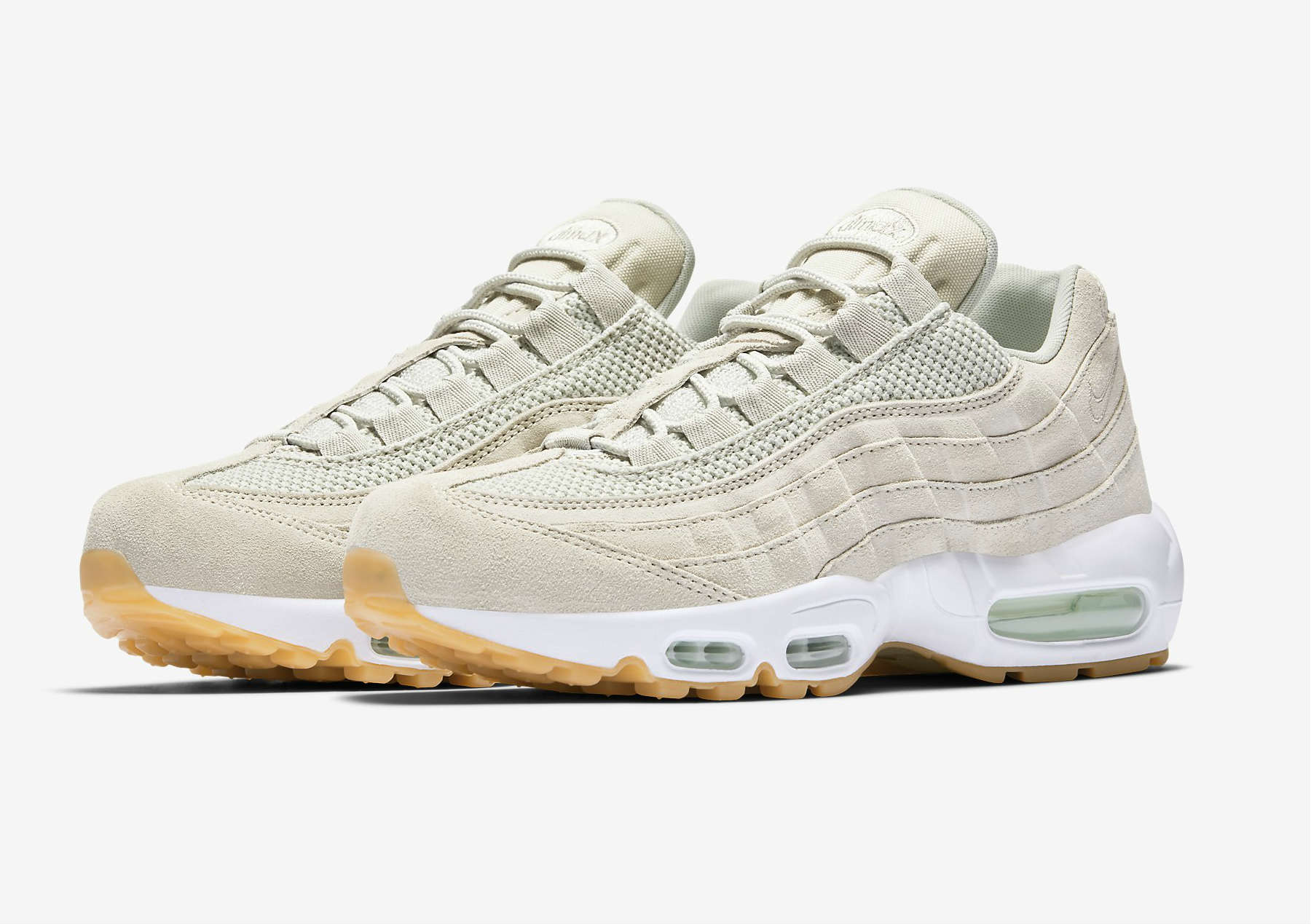 nike air max 95 femme light bone