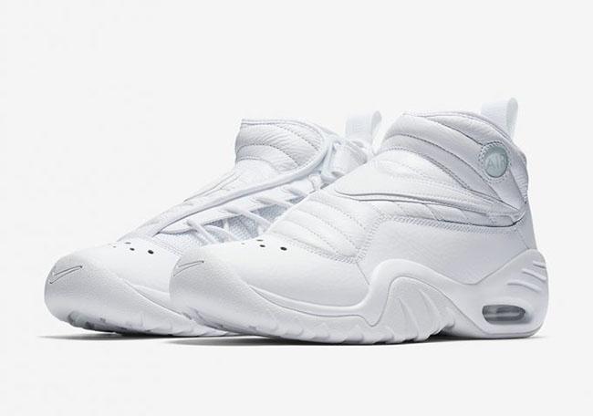 Nike Air Shake NDestrukt Triple White