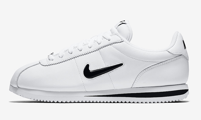 Nike Cortez Jewel QS White Black - Le Site de la Sneaker 7f135c1ed60d