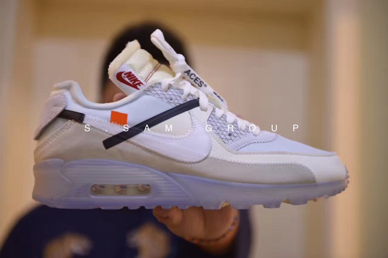 Preview: Off-White x Nike Air Max 90 ICE - Le Site de la Sneaker