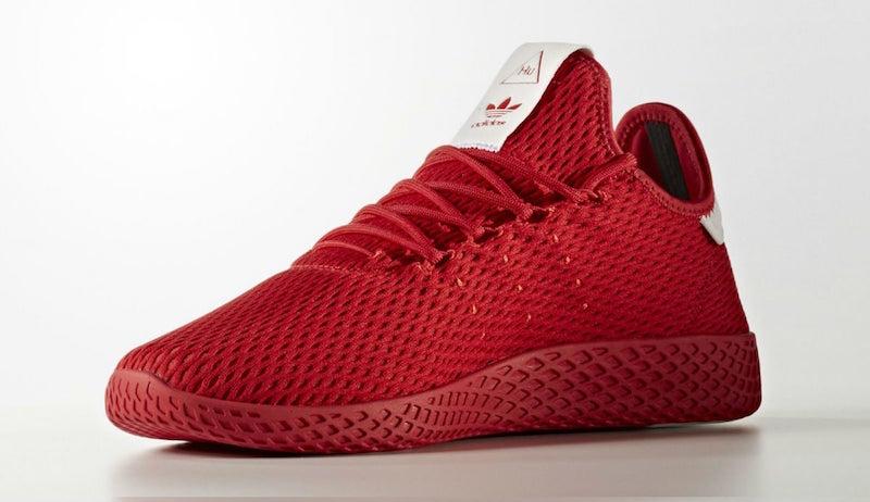 basket adidas pharrell williams rouge