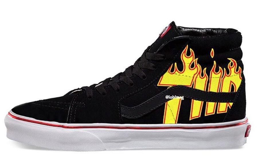 Preview Thrasher X Vans Collection Le Site De La Sneaker