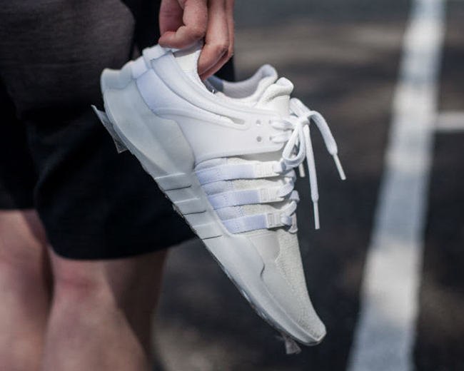 adidas EQT Support ADV Triple White Le Site de la Sneaker