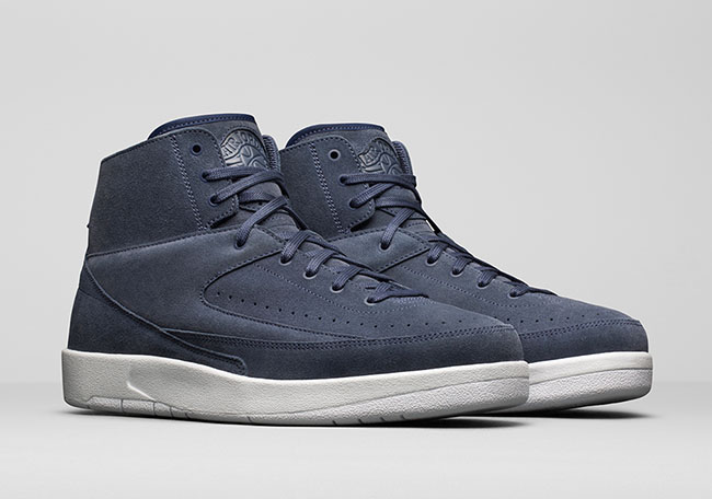 897521 402 Nike Air Jordan 2 Retro Decon Thunder Bleu