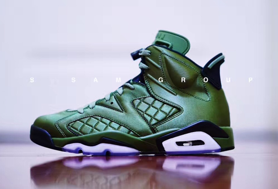 8281a713530 Preview: Air Jordan 6 Pinnacle Flight Jacket - Le Site de la Sneaker