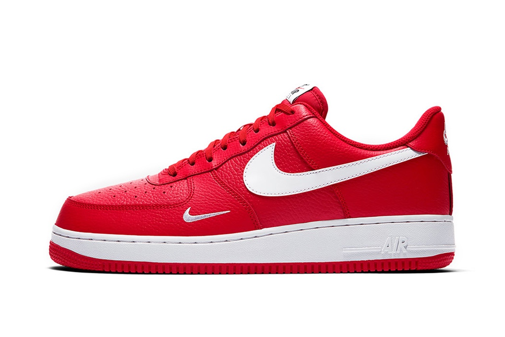 nike air force 1 low rouge et blanche
