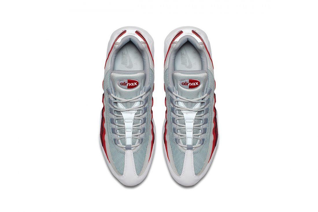 wholesale dealer coupon code the best Preview: Nike Air Max 95 Wolf Grey Team Red - Le Site de la ...