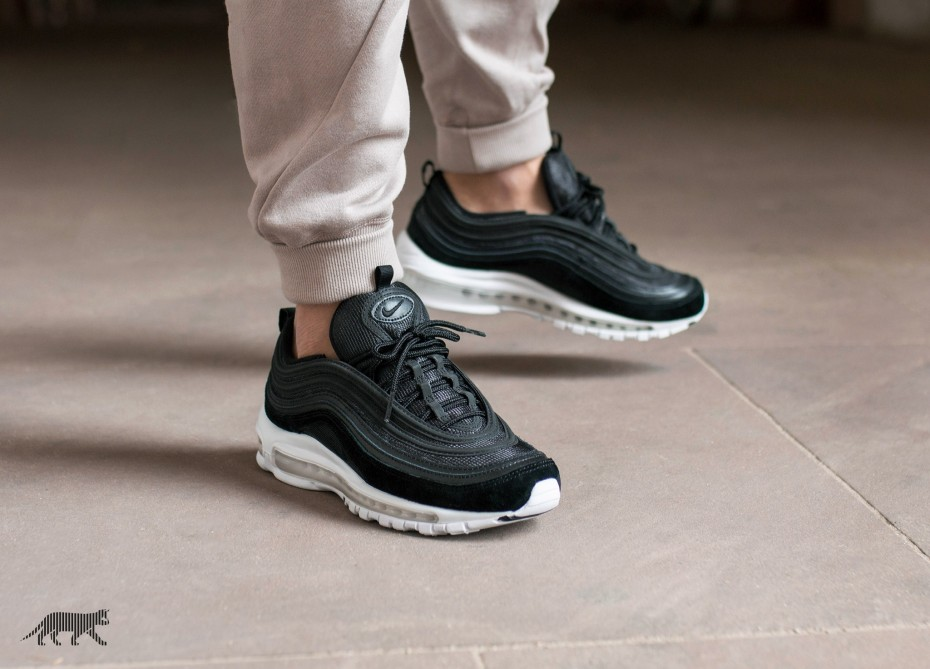 Nike Air Max 97 Black Suede