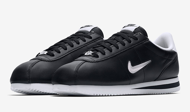 Nike Cortez Jewel Black & White Le Site de la Sneaker