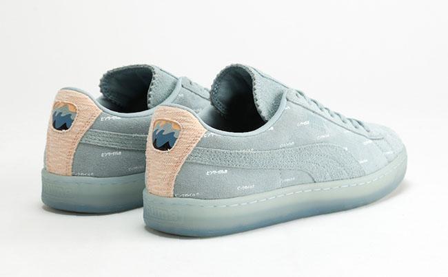 Chaussures En Daim Dauphin Rose Pumas 06B1Sf