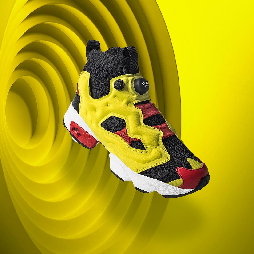 Le Sneaker Site Fury Ultraknit Instapump De Citron Og Reebok La Xpfwg4qa1