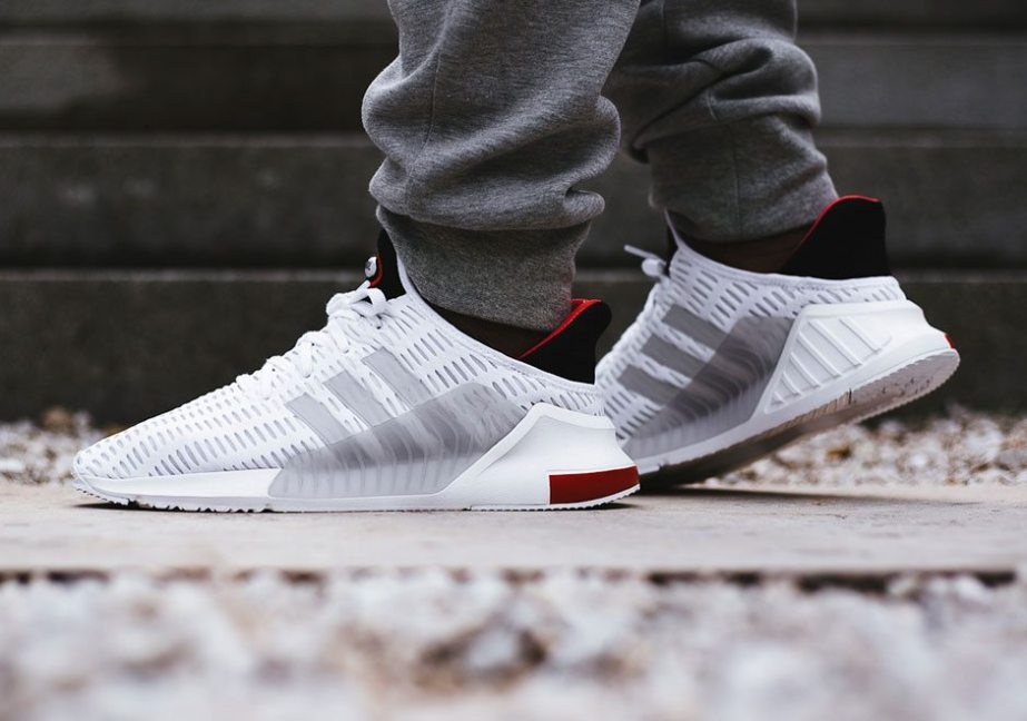 adidas Climacool 0217 White Black Red