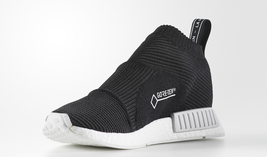 26ed81c608753d adidas NMD CS1 Gore Tex Black White - Le Site de la Sneaker