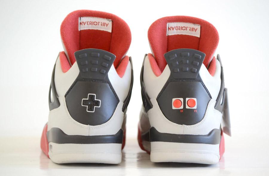 info for 93221 de694 shopping air jordan 4 retro custom ps4 f4408 e4306