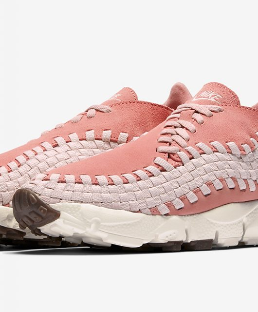 f4d36a918c3751 Nike WMNS Air Footscape Woven Silt Red. Le rose est à l honneur ...