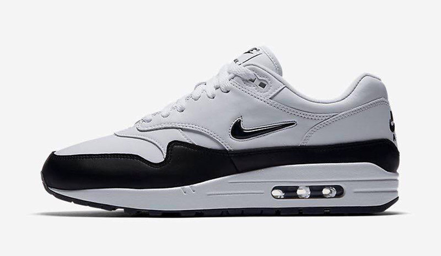 51abf8d9bd Nike Air Max 1 Premium SC Jewel Black White
