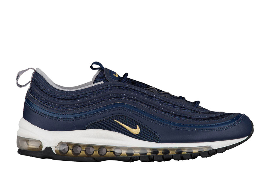 finest selection 32271 d976b nike-air-max-97-automne-2017-navy-gold-