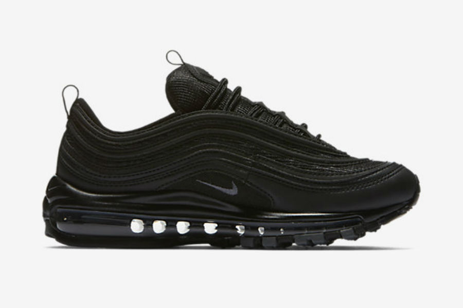 nike air max 97 black homme