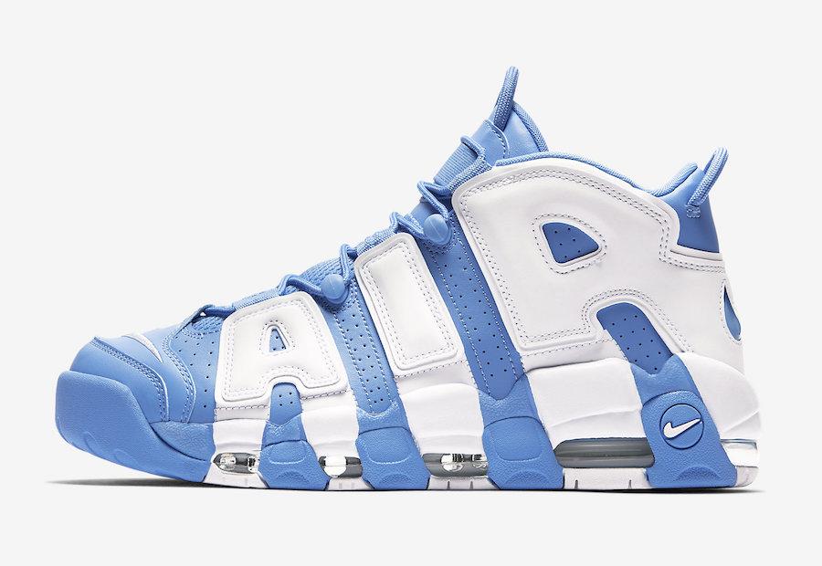 Nike Air More Uptempo University Blue Le Site de la Sneaker