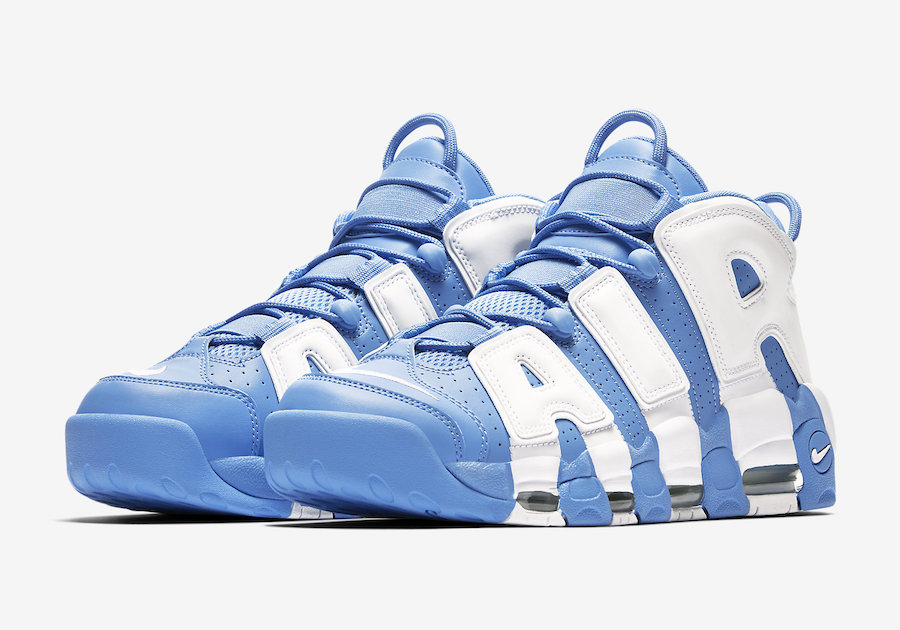 Nike Air More Uptempo University Blue Le Site de la Sneaker