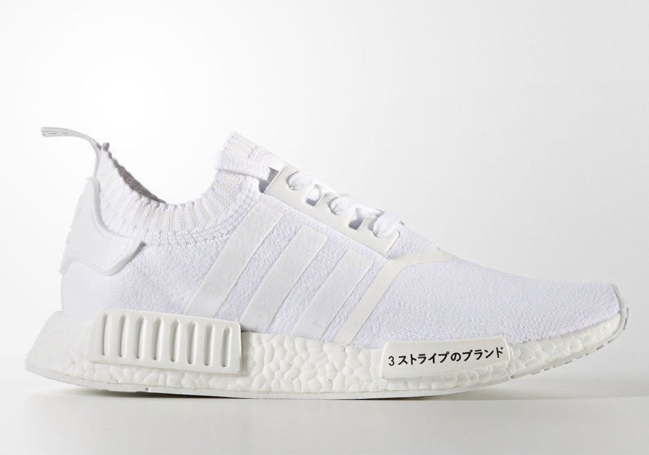 new styles 27e0e f7263 adidas NMD R1 PK Japan Triple White