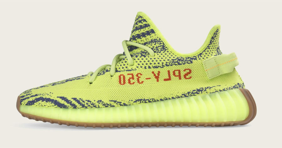 newest collection ed84c 6235a adidas Yeezy Boost 350 V2 Semi Frozen Yellow