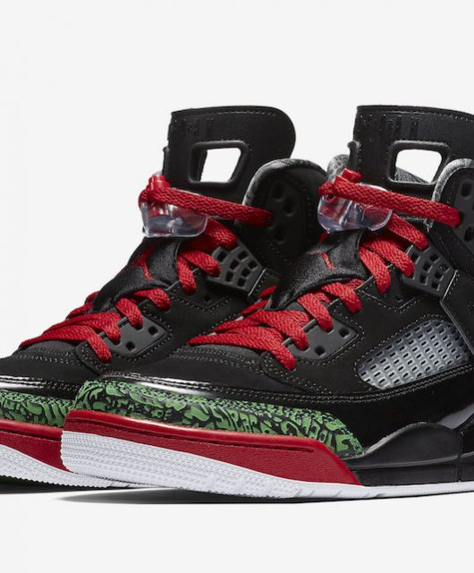 Air Jordan Spiz'ike Black Red Green