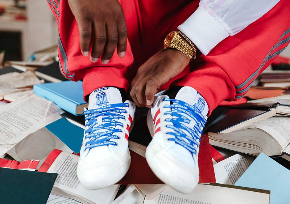 adidas Skateboarding x Asap Ferg Pants   Rouge   Pantalons