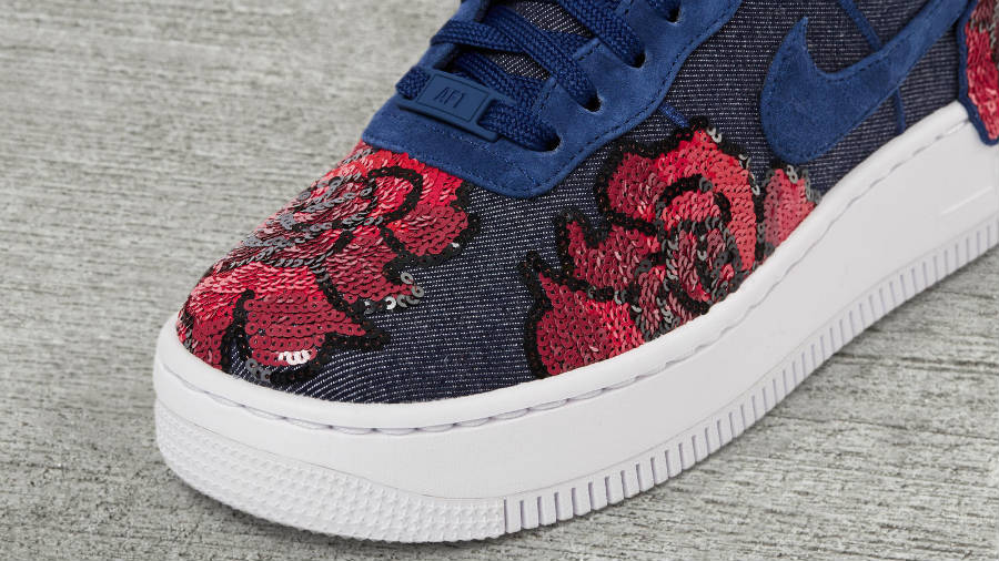 Air 1 Sequin Force Pack Low Floral Nike Lx Upstep jq5cA34LR