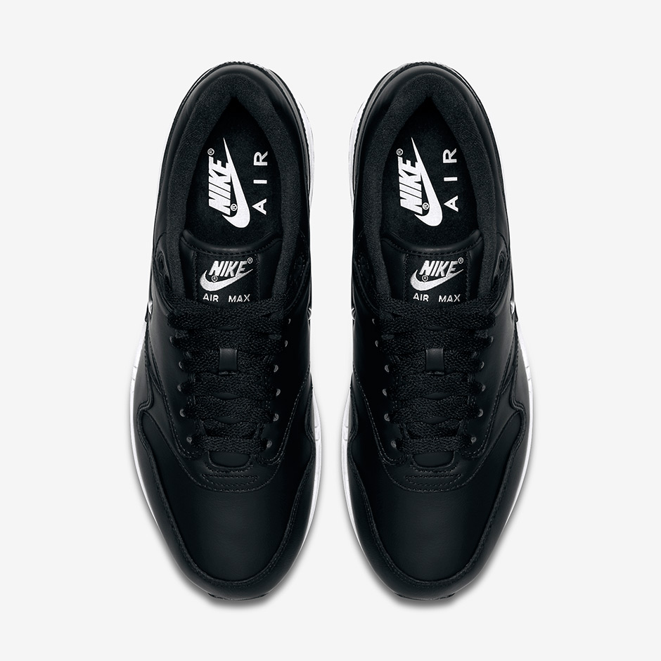 2bfbfd5008b Nike Air Max 1 Jewel Black Metallic Silver - Le Site de la Sneaker