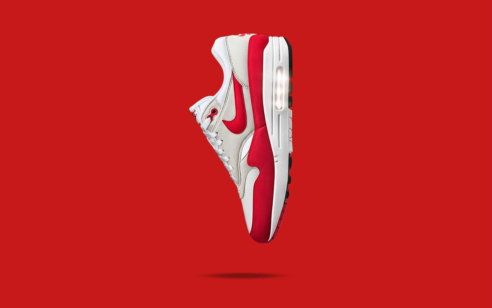 b62b0b4c11ca Restock Nike Air Max 1 OG Anniversary Red - Le Site de la Sneaker