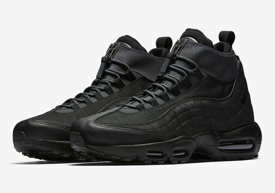 meilleur site web 43828 5ca47 La Nike Air Max 95 Sneakerboot Triple Black de retour - Le ...