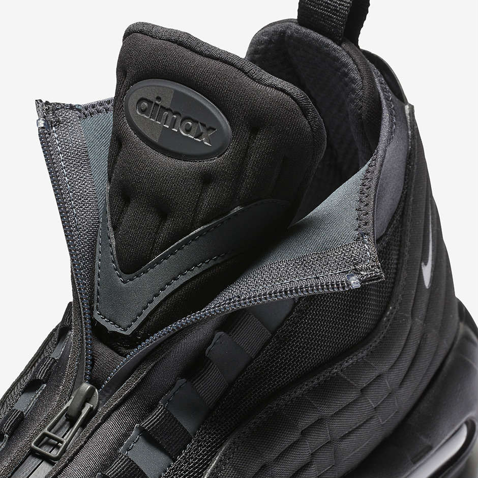 Look Out For The Nike Air Max 95 Sneakerboot Triple Black
