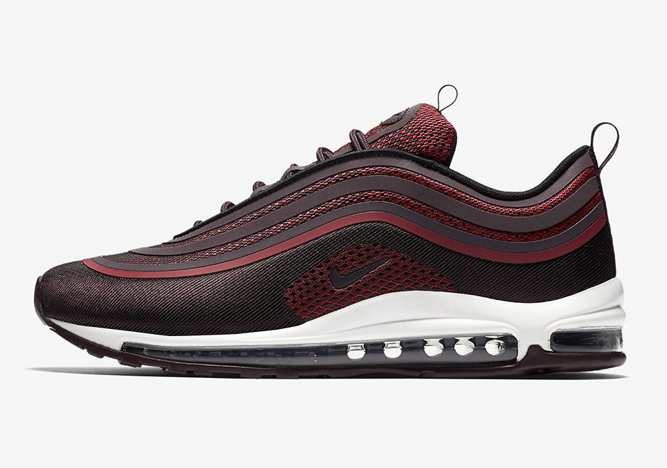 preview nike air max 97 ultra burgundy le site de la sneaker. Black Bedroom Furniture Sets. Home Design Ideas