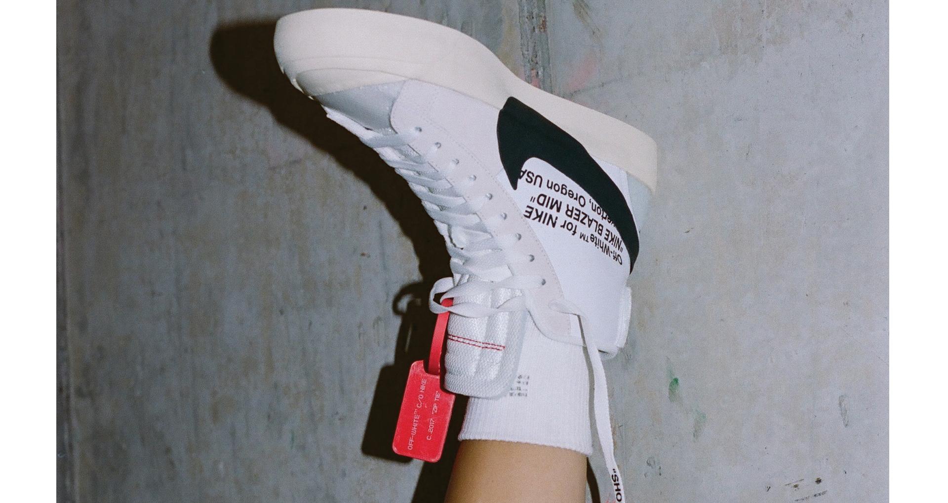 super speciali immagini dettagliate immagini dettagliate Off White x Nike Blazer Mid 10X - Le Site de la Sneaker