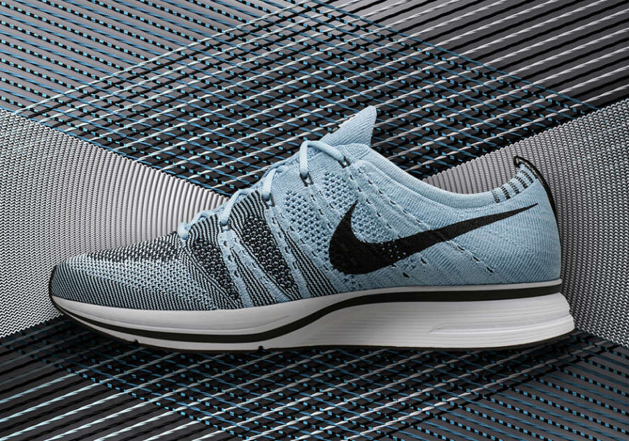 99a897f340fd2 shop nike flyknit trainer atmosphere grey 1 366ed 16c84  promo code for nike  flyknit trainer cirrus blue ah8396 400 1 2d093 66ab3