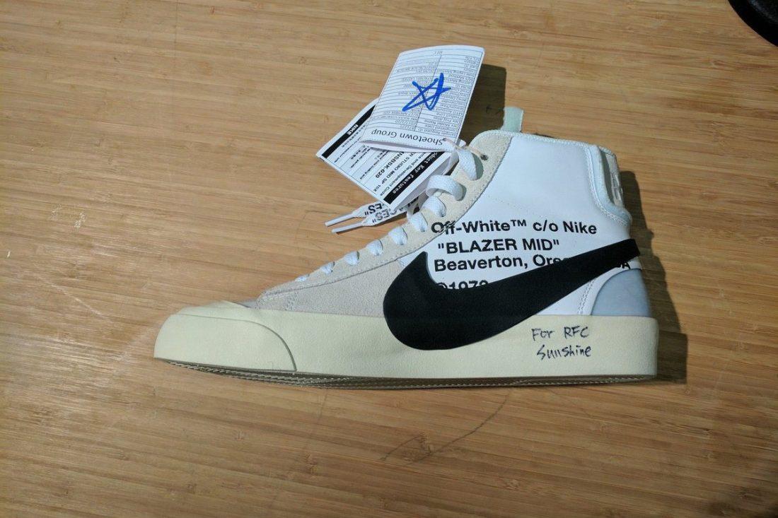 Off White X Nike Blazer Mid 10x Le Site De La Sneaker