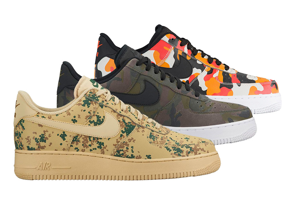 sneakers for cheap 33b5d 4c901 Un Nike Air Force 1 Low Camo Pack pour décembre