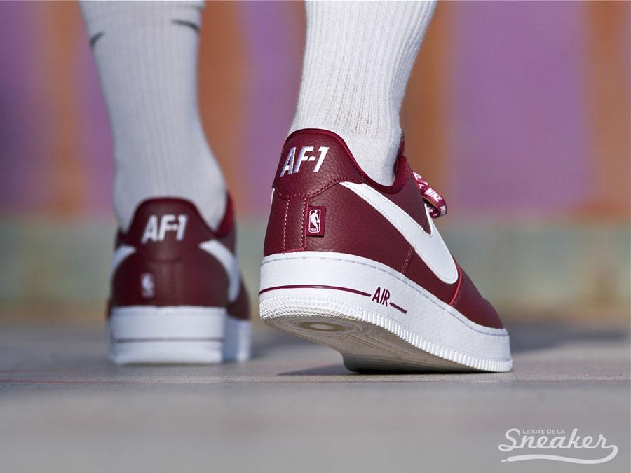 ab6c65613425 On-Feet  Nike Air Force 1 Low NBA Pack - Le Site de la Sneaker